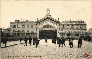 CPA AK AMIENS - La Gare du Nord (514655)