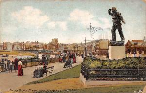 England Margate Surf Boat Memorial, Soldier, Statue, Animated 1909