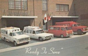 BOONSBORO , Maryland, 1950-60s; Volunteer Ambulance Squad