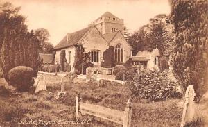 United Kingdom, Great Britain, England Stoke Poges Church  Stoke Poges Church