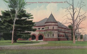 POUGHKEEPSIE, New York, 1900-1910s; Gymnasium, Vassar College