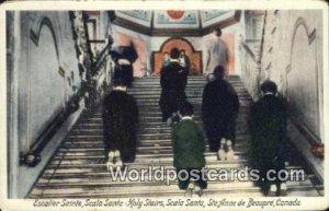 Escalier Sainte, Scala Santa Holy Stairs Ste Anne De Beaupre Canada Unused
