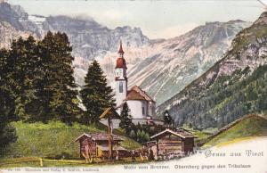 GRUSS AUS TIROL, Austria, 1900-1910's; Motiv Von Brenner, Obernberg Gegen Den...