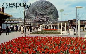 Canada - Quebec, Montreal. Expo 67, USA Pavilion