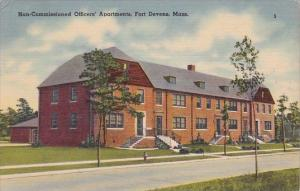 Non Commissioned Officers Apartments Fort Devens Massachusetts