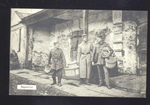 REQUISITION GERMAN MILITARY GERMANY ANTIQUE VINTAGE POSTCARD SOLDIERS