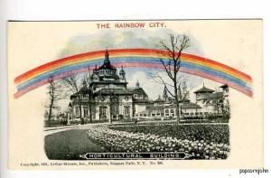 Pan-American Expo Rainbow City Horticultural Postcard
