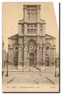 Old Postcard Lyon Eglise Saint Andre