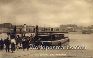 United Kingdom, UK, England, Great Britain Floating Bridge Southampton Southa...