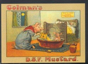Advertising Postcard - Robert Opie - Food - Colman's D.S.F.Mustard  DD687