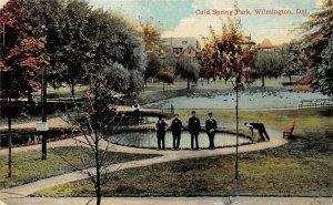 LP40 Cold Springs Park Wilmington Delaware  Postcard