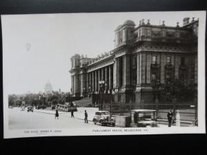 Australia: MELBOURNE Parliament House Old RP PC