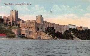 West Point, Hudson River, New York,  Early Postcard, Unused