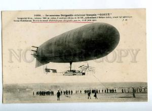205539 FRANCE AVIATION airship dirigible CONTE Hauser #1666