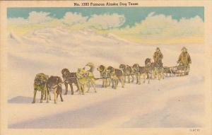 Alaska Famous Alaska Dog Team