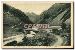 Old Postcard Vallee du Dauphine Veneon the Plan du Lac en Oisans and F?toules