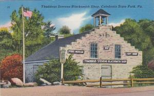 Pennsylvania Caledonia State Park Thaddeus Stevens Blacksmith Shop
