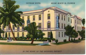 US    PC1611  GOTHAM HOTEL, MIAMI, FL