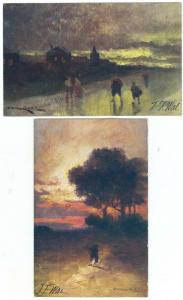 2 - Scenes, by J. F. Wal