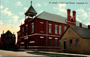 Indiana Hammond St Joseph's Church and School