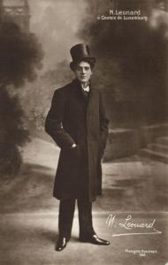 CPA Hongrie Artiste Theatre Star N. Leonard (93831)