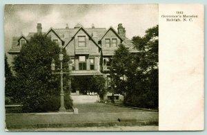 Raleigh North Carolina~Governor's Mansion~Children on Front Steps~c1905 B&W