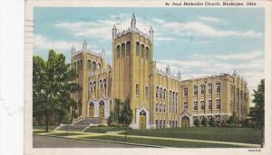 MUSKOGEE , Oklahoma , PU-1948 ; St Paul Methodist Church