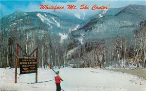 Wilmington New York~Whiteface Mt Ski Area~Lady Snow Skis~1950s