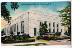 Folger Shakespeare Library, Washington DC