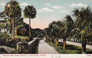 Palmetto Row South Beach Street Daytona Florida 1919