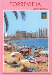 Spain Torrevieja Alicante Beach of the Cura Plage Playa