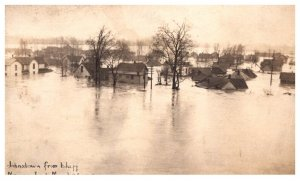 Flood  Disasters   Indiana Marion Johnstown from Bluff