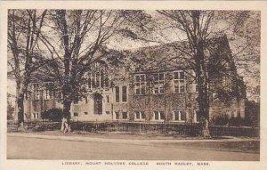 Massachusetts South Hadley Mount Holyoke College The Library Albertype