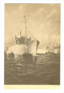 Ocean Liner   Swedish American Line, MS  KUNGSHOLM , 30-40s