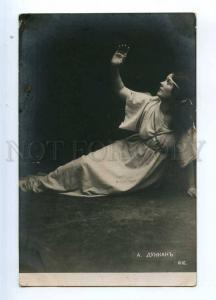 234318 Great Isadora DUNCAN American DANCER Vintage PHOTO PC