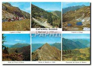 Postcard Modern Cento Campi di Monti Gambarogno Caviano Ti