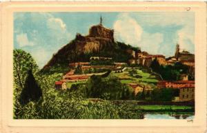 CPA La Douce France - Le Puy - Le Rocher-Corneille (588524)