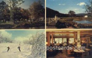 Nobody Passes Kass, Margaretville, New York, NY USA Skiing Postcard Post Card...