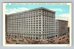 Chicago IL-Illinois, Marshall Field & Co.'s Retail Store, Vintage Postcard