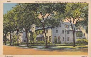 Illinois Evanston Womans Quadrangle Northwestern Univeristy 1943