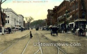Elm St. in Manchester, New Hampshire