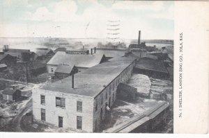 IOLA , Kansas , PU-1909 ; Smelter, Lanyon Zing Co.