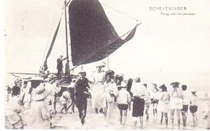 Scheveningen - Carrying Women From Ship to Shore 1908