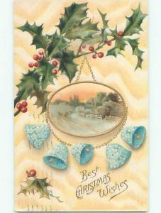 Divided-Back CHRISTMAS SCENE Great Postcard AA0073