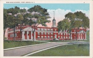 New York Port Jervis New High School