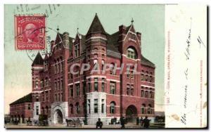 Postcard Old City Hall Spokane Washington