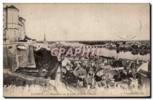 Saumur - Perspective on the Loire - Old Postcard