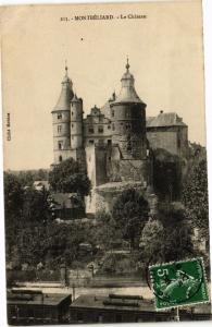 CPA MONTBÉLIARD - Le Chateau (183088)