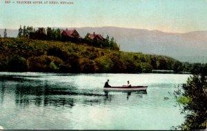 Nevada Reno Boating On Truckee River