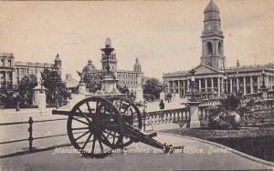 Monument in Town Gardens & Post Office , DURBAN , South Africa , 00-10s